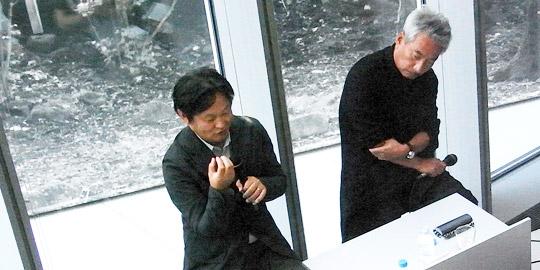 オープニングトーク 深澤直人×藤井保