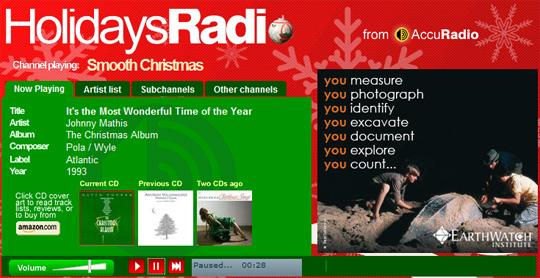 AccuRadio - Holidays Radio